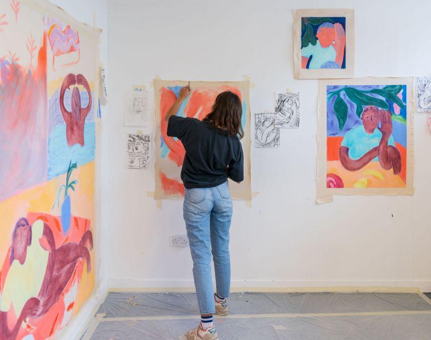 Coline Marotta, Studio Portrait, 2019