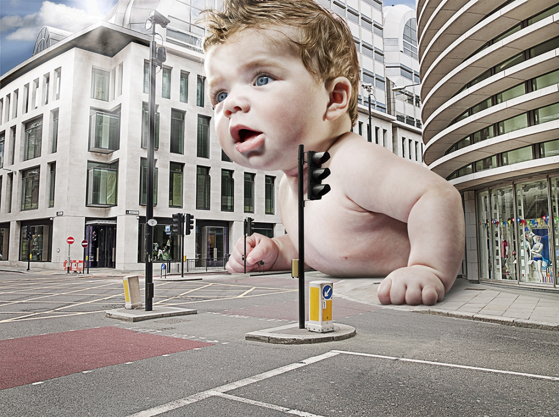 Are you a crawler © Charles Saatchi
