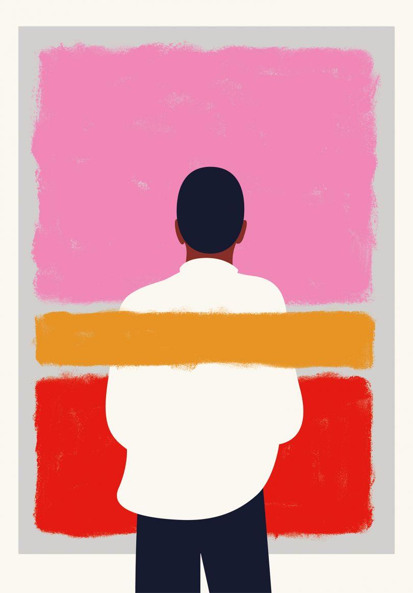 Alternative Rothko, UV-Print from the 'Alternate Realities' exhibition