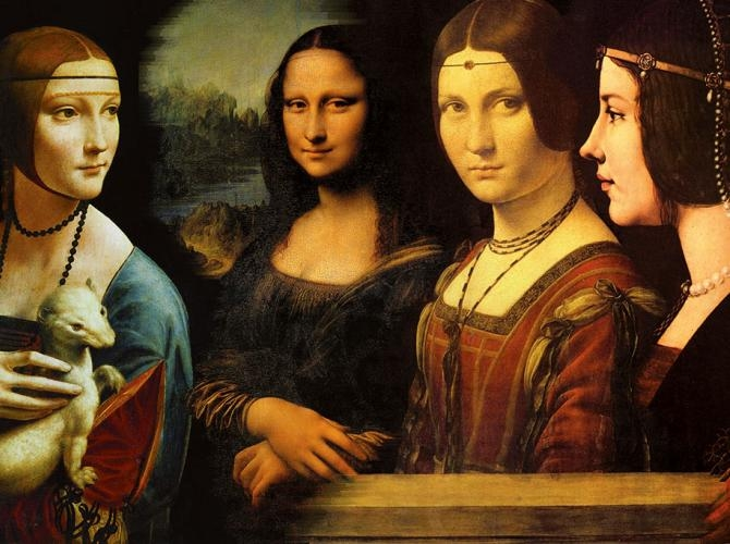 The genius Leonardo da Vinci at Beurs van Berlage