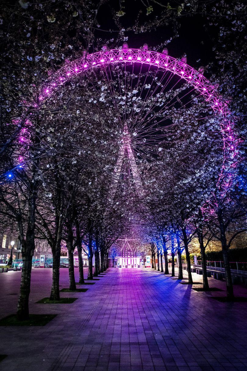 London Eye, 5 April 2020 © Jan Enkelmann