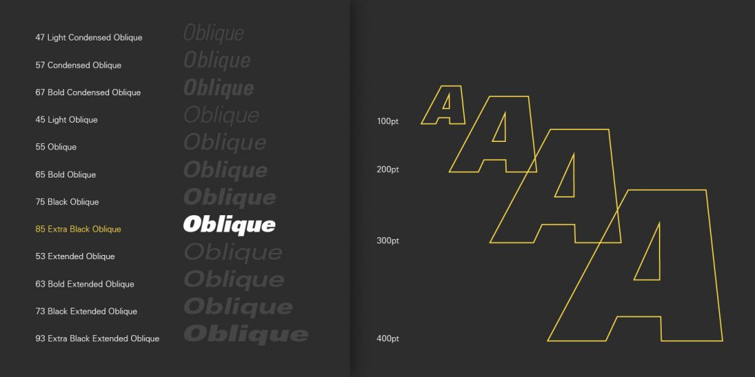 Top 20 fonts that will be popular with designers in 2019