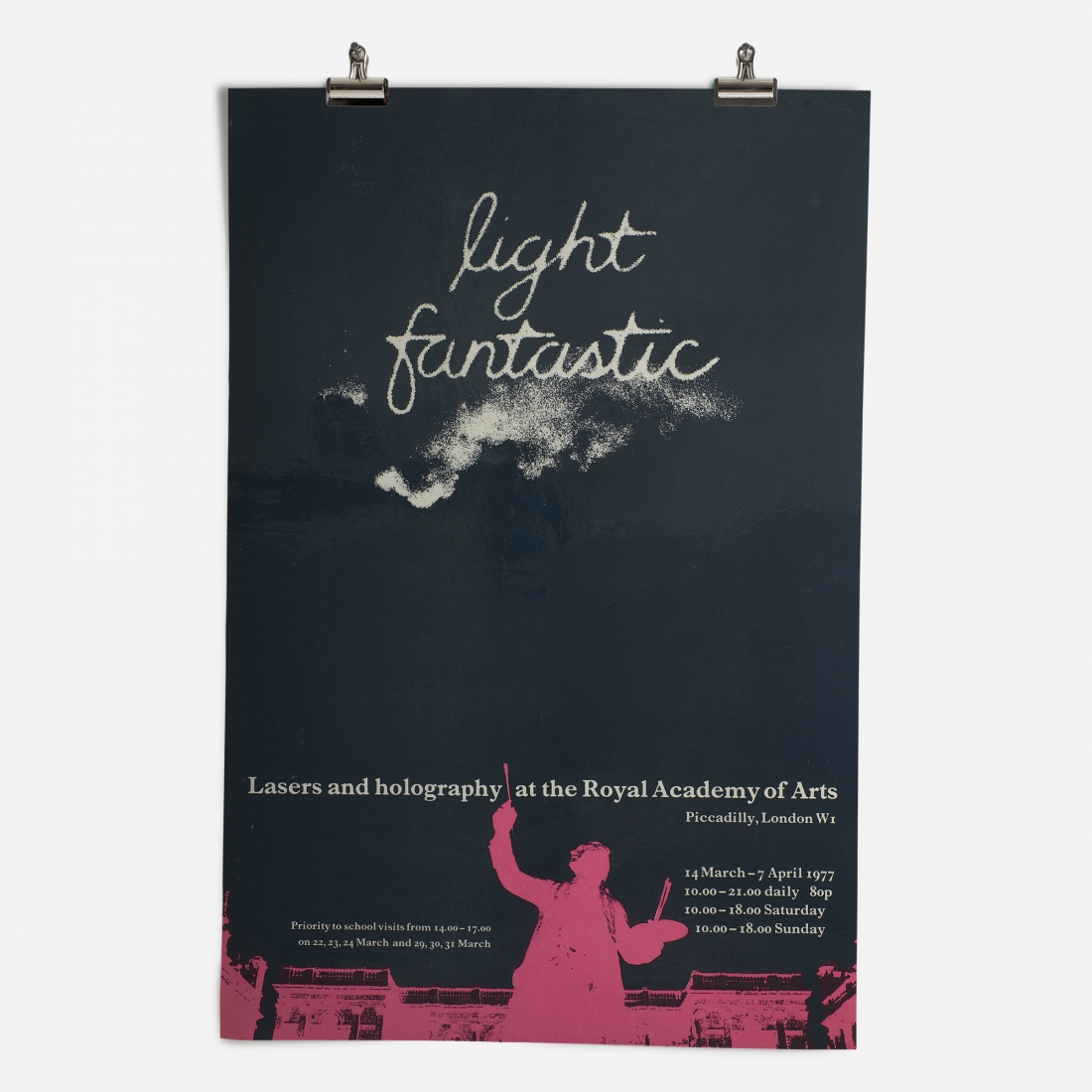 RA Light Fantastic Exhibition 1977 Epic Poster ​from the Royal Academy of Arts Collection