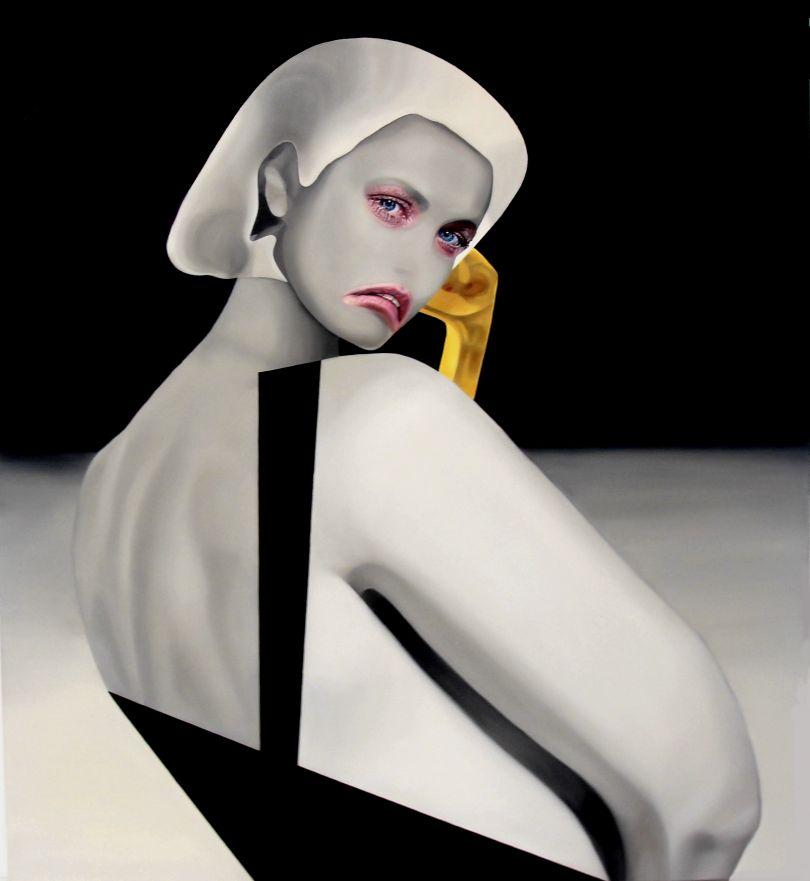 Lady Grace, oil on canvas, 120x110cm © Teiji Hayama