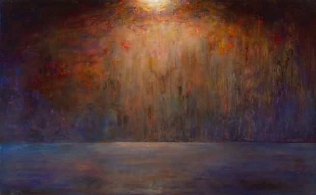 In The Upper Room (2015-8). Copyright Nina Murdoch, courtesy Marlborough Fine Art.