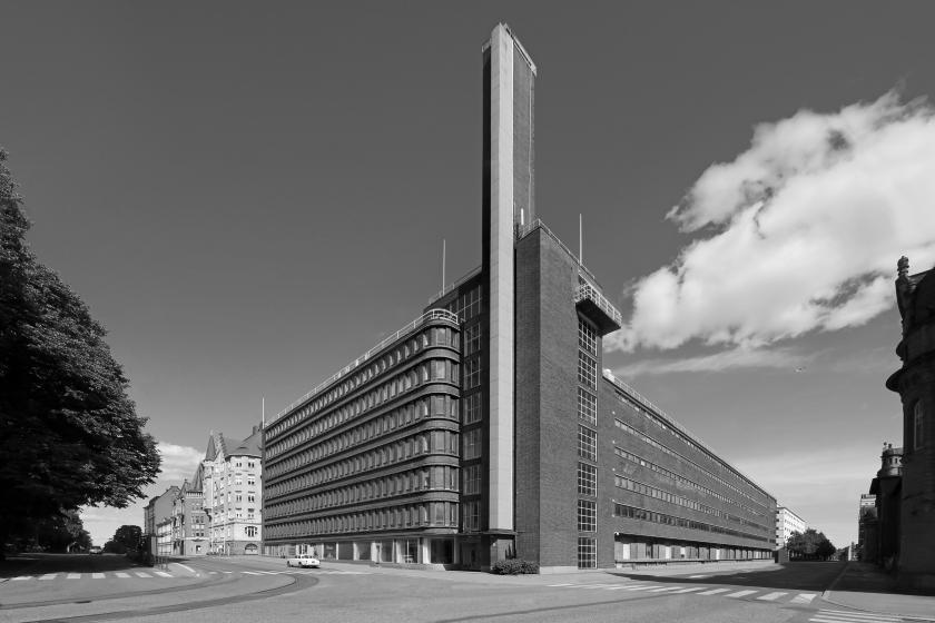 Kesko Headquarter, Helsinki, Finland, 1940 © Photo: Jean Molitor