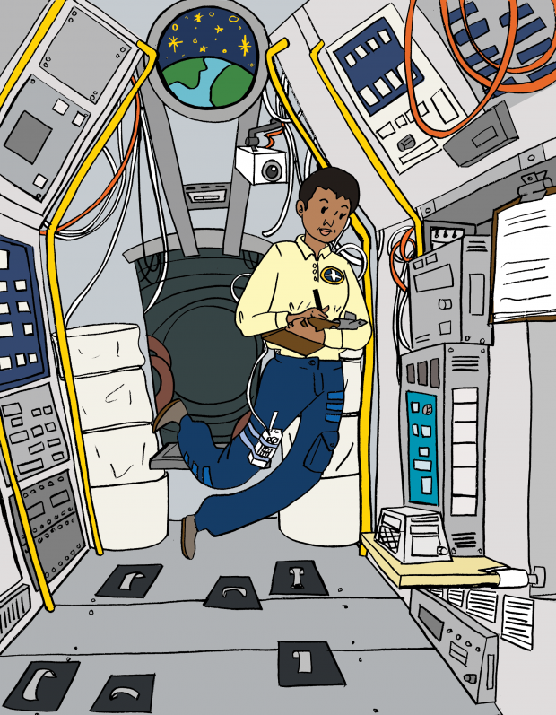 Mae Jemison, from the book A Black Woman Did That