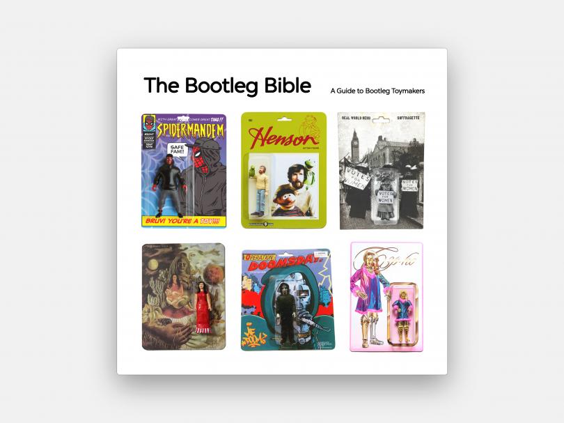 The Bootleg Bible, available via Blue Monday Press