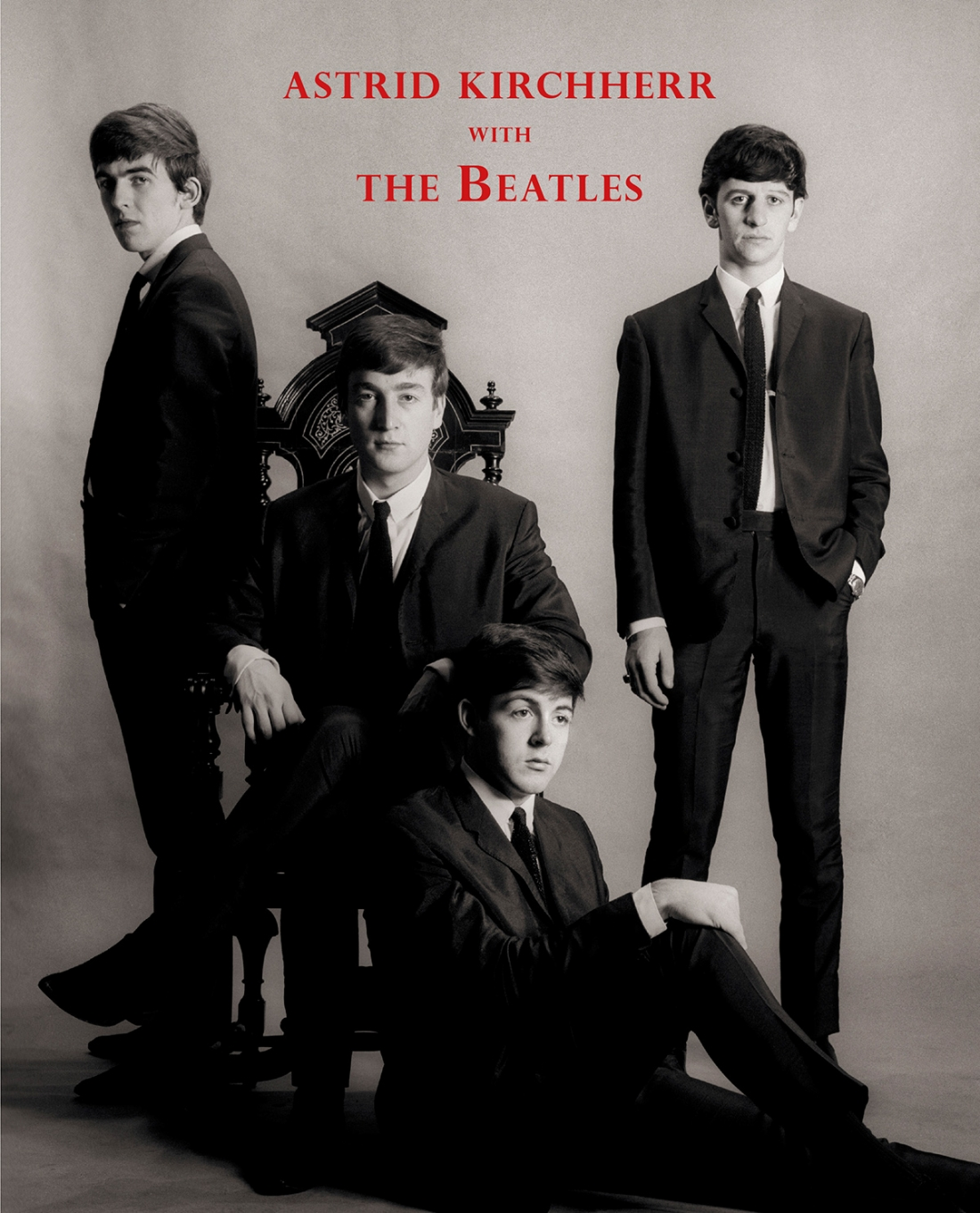 Astrid Kirchherr With The Beatles, cover
