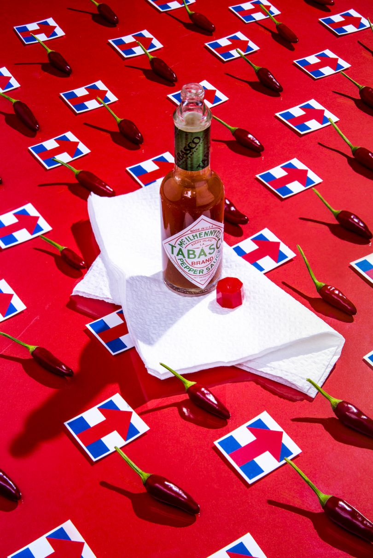 Hillary Clinton / Hot Peppers and Tabasco Sauce - © Dan Bannino