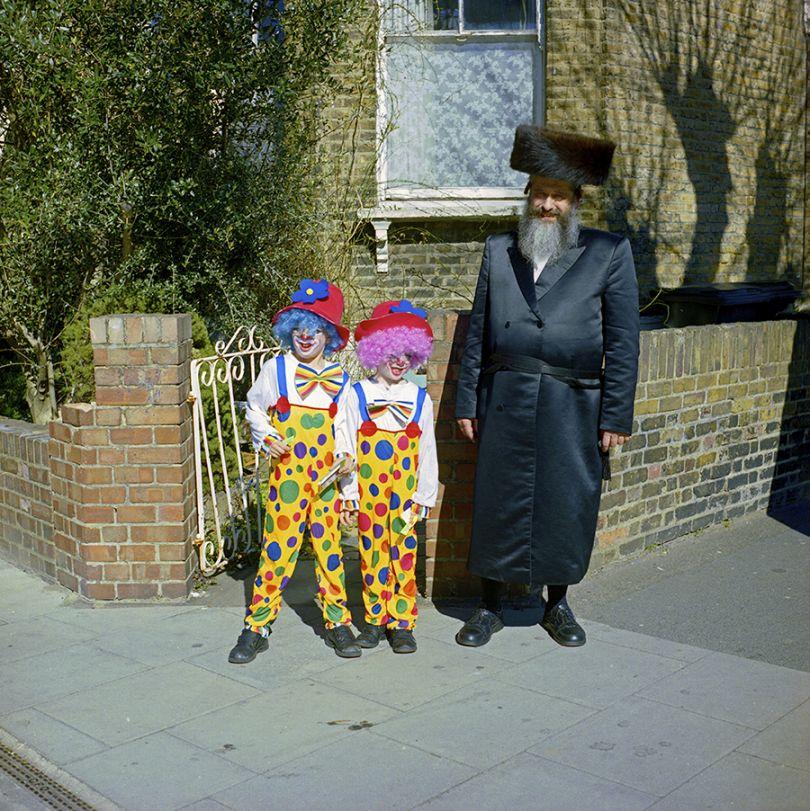 Purim in Stamford Hill, Stephen Leslie