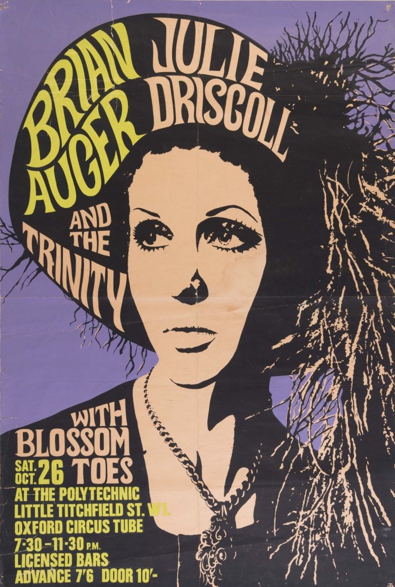 Julie Driscoll by Brian Augar (1968). Private Collection: not for sale.