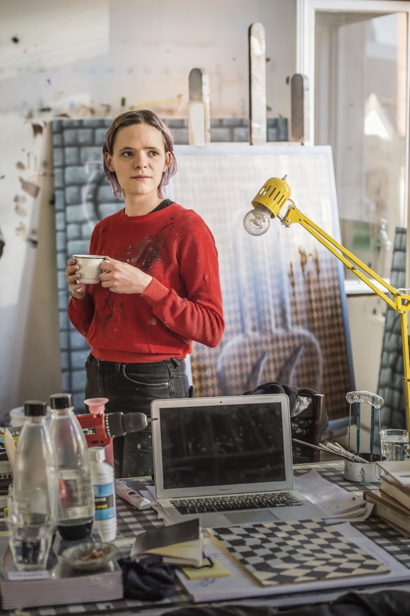 Charline Tyberghein portrait, photo by Joost Joossen