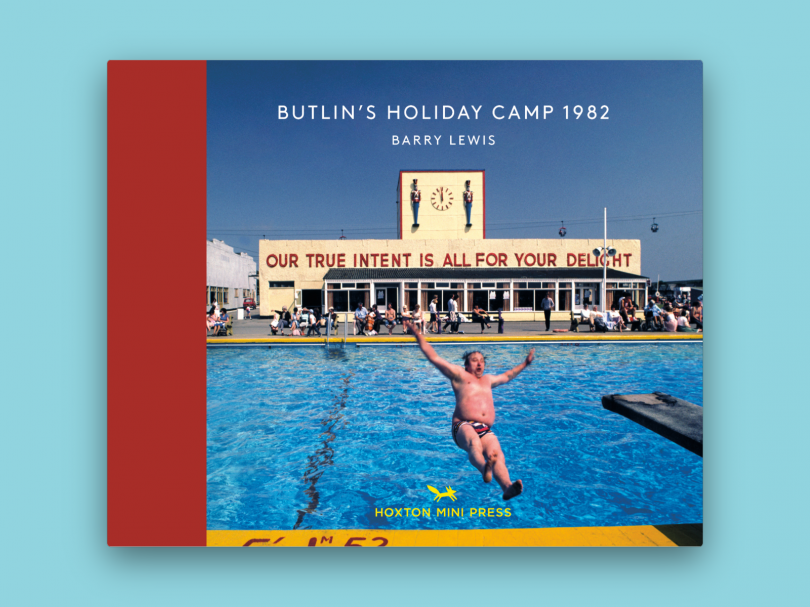 Butlin's Holiday Camp 1982 by Barry Lewis is published by [Hoxton Mini Press](https://www.hoxtonminipress.com/products/butlins-holiday-camp-1982)