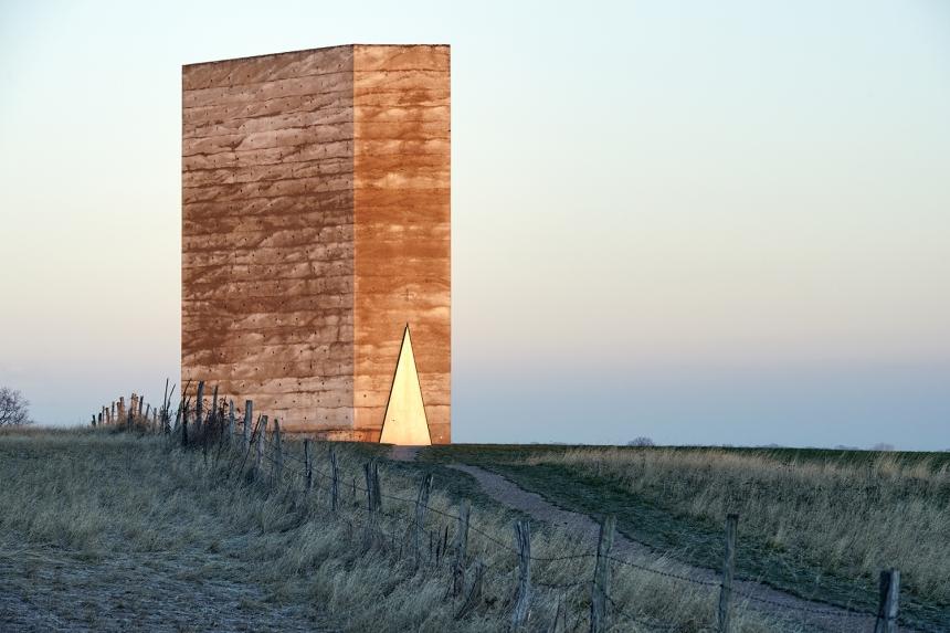 Photographer: Mark Wohlrab Bruder Klaus Field Chapel, Mechernich-Wachendorf, Germany  Architect: Peter Zumthor