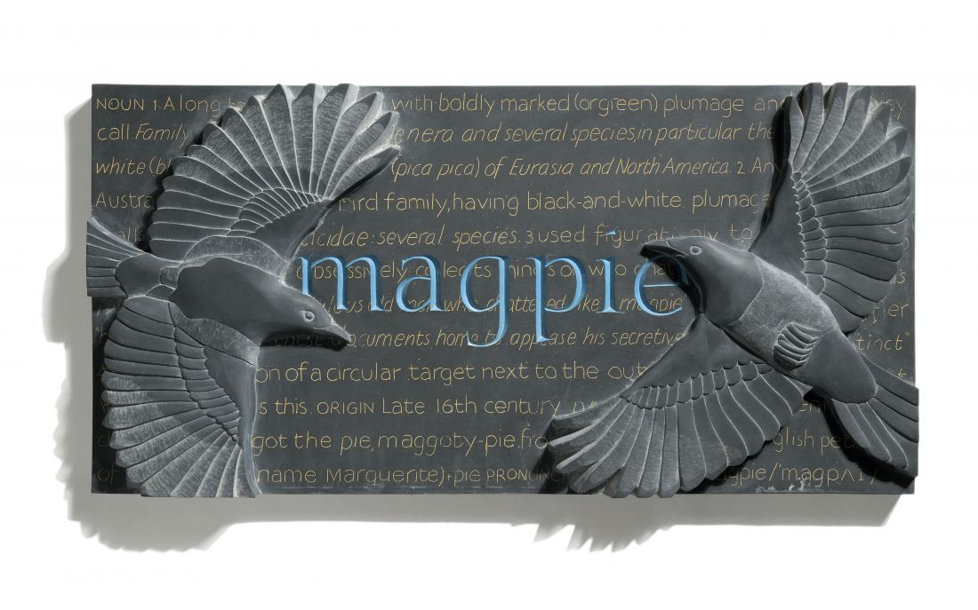Magpie, by Louise Tiplady