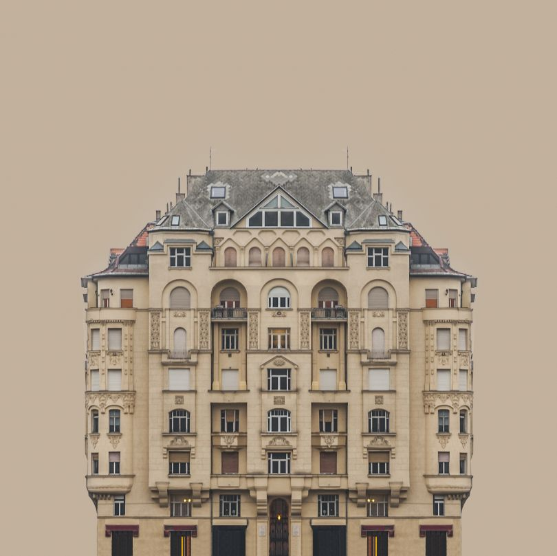 Urban Symmetry presents buildings on the banks of the River Danube | © Zsolt Hlinka, Hungary, Shortlist, Professional, Architecture (professional), 2017 Sony World Photography Awards