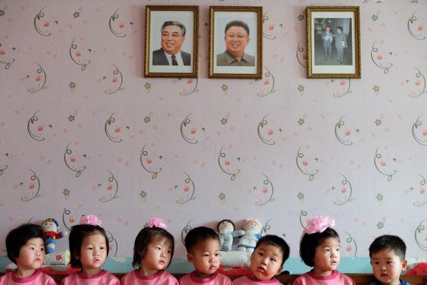 © Fabian Muir – The Hands that Rock the Cradle, North Korea