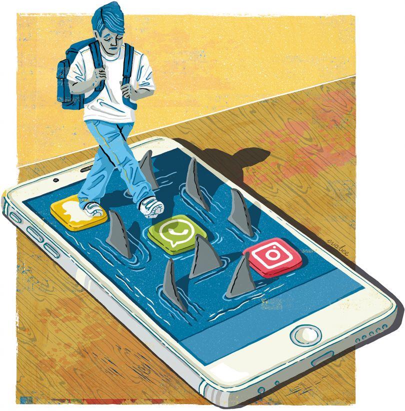 NUT Magazine: Feature Illustration
