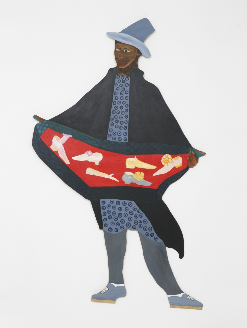 Lubaina Himid, Naming the Money, 2004. Courtesy the artist and Hollybush Gardens, photo Andy Keate