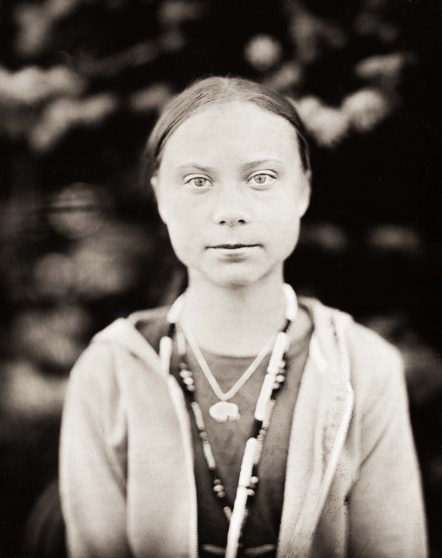Greta Thunberg © Shane Balkowitsch. Via Creative Boom submission. All images courtesy of the artist.