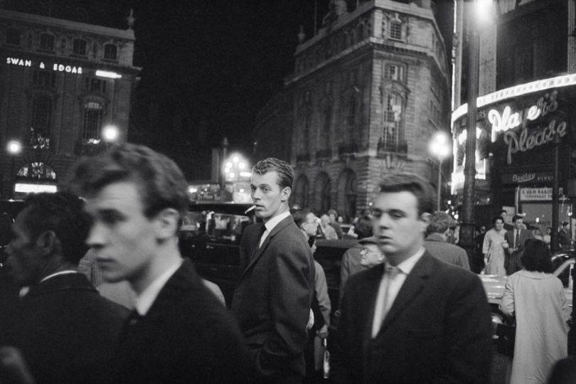 'The West End at night', Bob Collins © Estate of Bob Collins