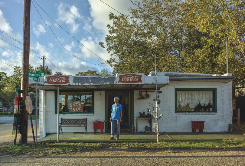 Betty and Her Shoe Museum, Camden © Andrew Moore, from Blue Alabama