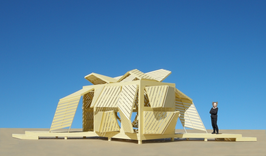 The Shape Shifting Pavilion - © Michael Jantzen
