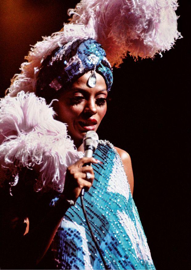 Diana Ross Los Angeles, 1976 © 2018 Bruce W. Talamon