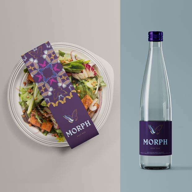Morph Food and Beverage Branding by Mars Design Consultants. Winner in the Graphics and Visual Communication Design Category, 2019-2020.