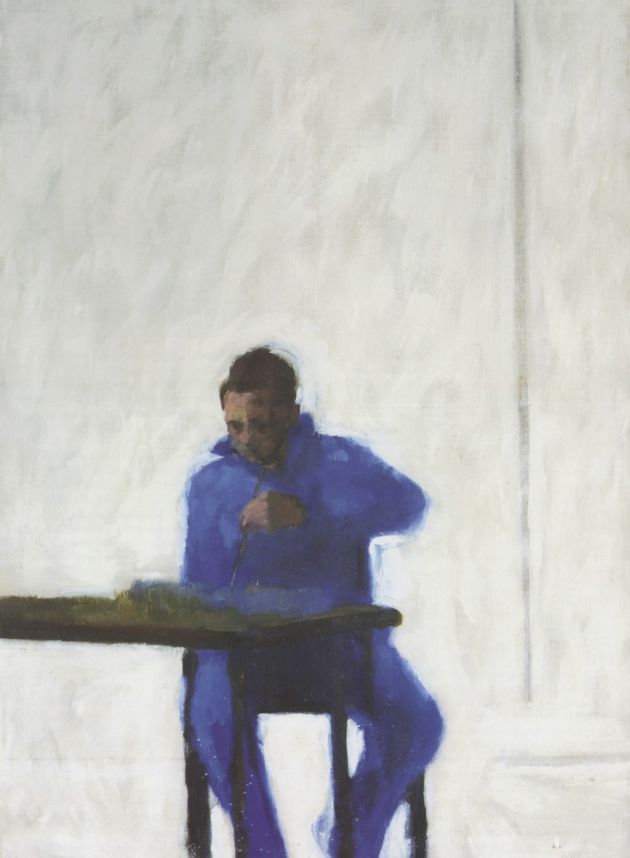 Victor Willing, Self Portrait, 1957, oil on canvas © The Artist's Estate. Via CB submission. All images courtesy of Hastings Contemporary