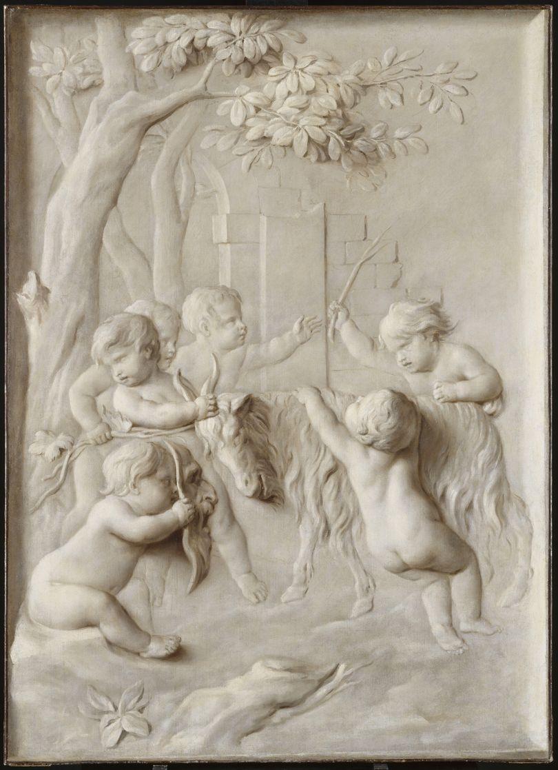 Marten Jozef Geeraerts (1707–1791) Children's Game, perhaps 1740–90 Oil on canvas, 140.5 × 101.5 cm Palais des Beaux-Arts, Lille, P.1011