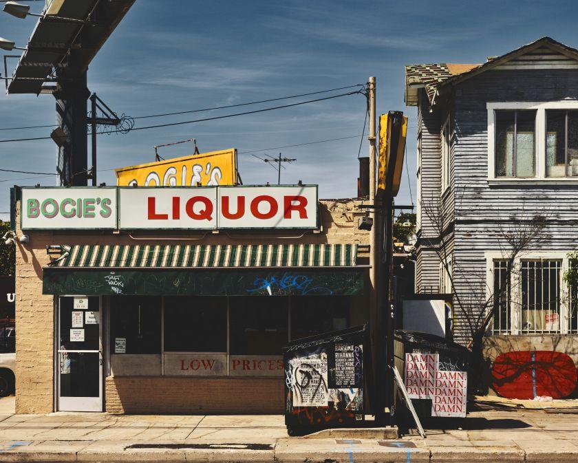 Bogie's Liquor, Los Angeles, 2017 © Ben Hassett