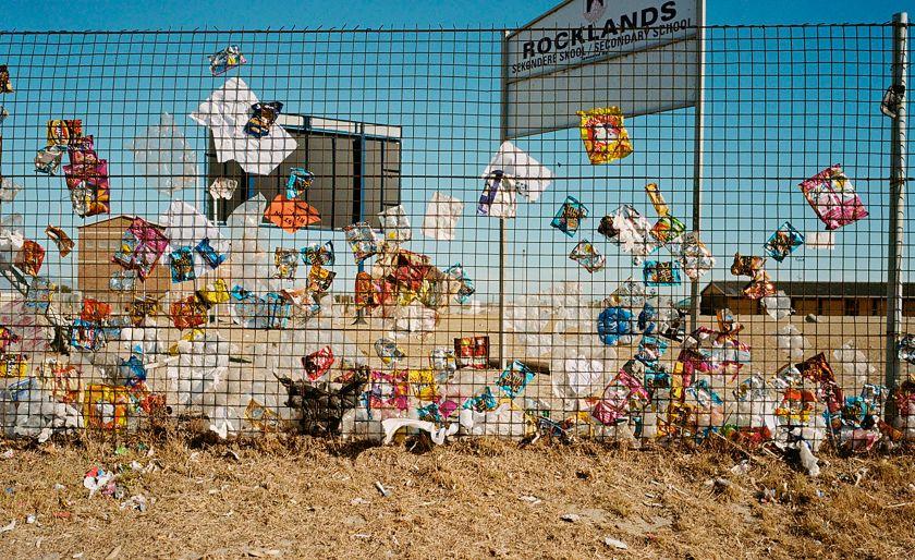 School Fence J Keene © Justin Keene
