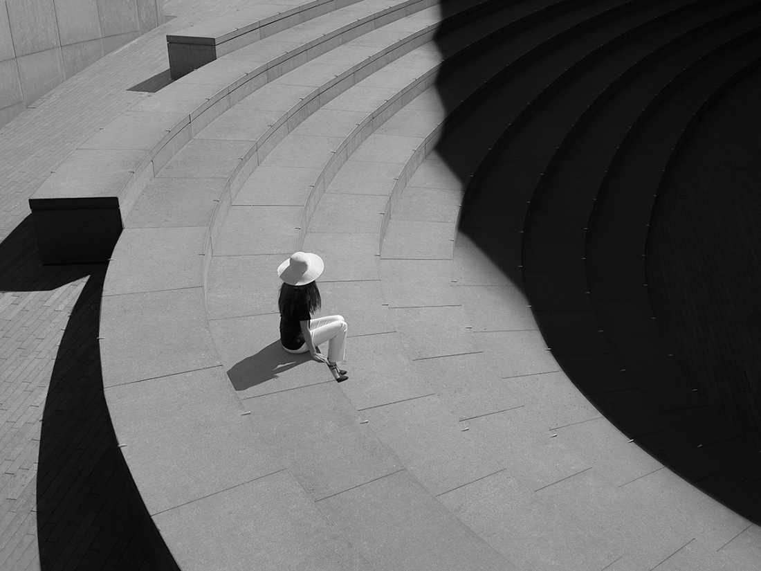 Geometrix: Photographer seeks out light and shadow in London's dark spaces