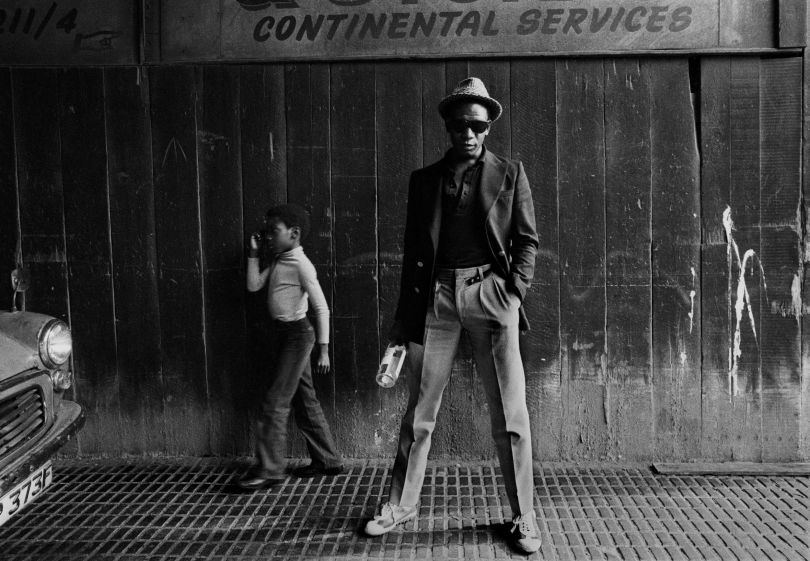 Bagga (Bevin Fagan), Hackney, East London 1979. Lead singer of British reggae band Matumbi with the son of Dennis Bovel, founder of the band