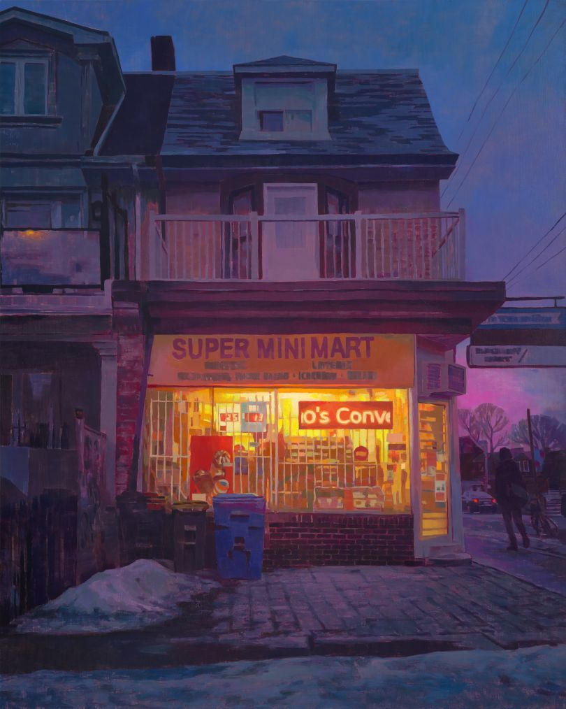 Keita Morimoto, Homecoming, 2019, acrylic and oil on linen, 60 x 48 in., courtesy of Nicholas Metivier Gallery, Toronto