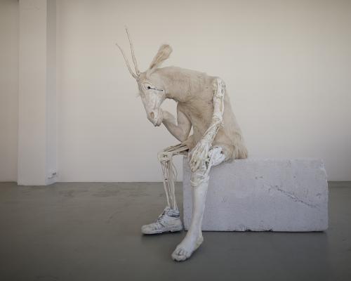Pawel Althamer: Self-portrait as the Billy-Goat 2011 | Courtesy of the artist and Foksal Gallery Foundation, Warsaw. Photo: Bartosz Stawiarski