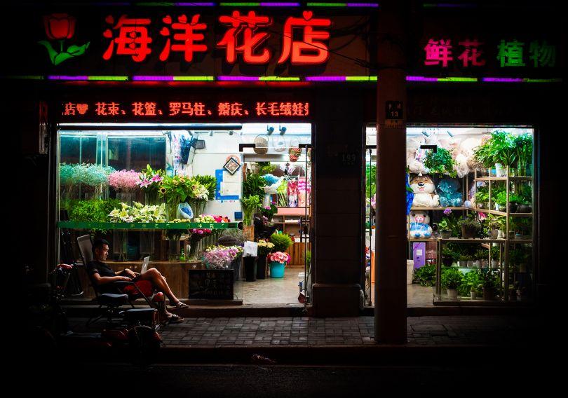 Nightshift Shanghai – Golden A' Photography and Photo Manipulation Design Award in 2019 © Florian W. Mueller