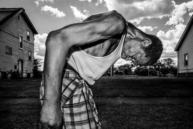 Untitled. Detroit, USA 2016 © Bruce Gilden / Magnum Photos