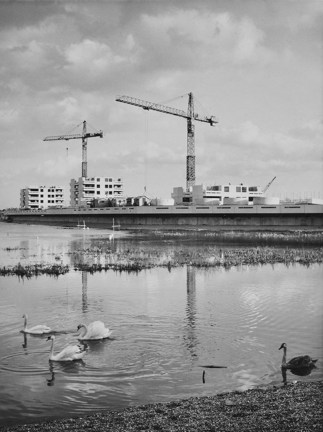 Photography of 50 years of Thameshead, the backdrop of Stanley Kubrick's 'A Clockwork Orange'
