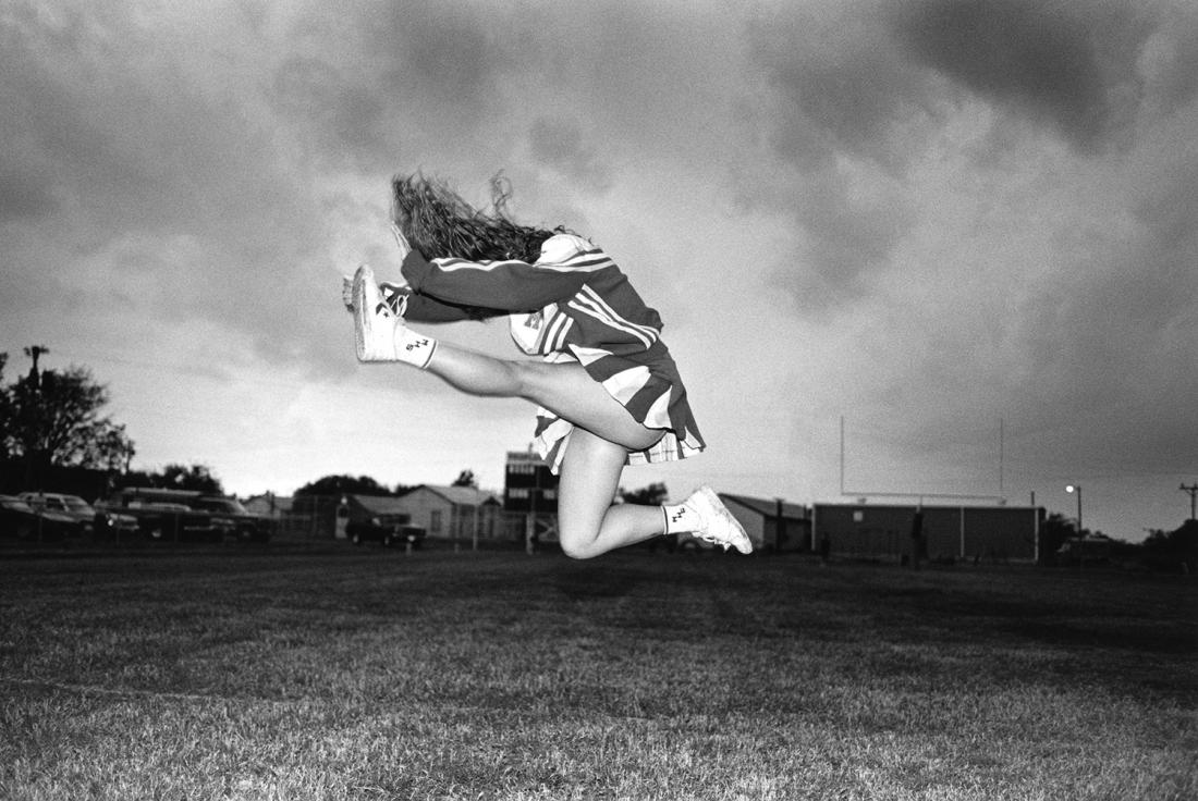 Laura Wilson, Sheila Edgar, Cheerleader, Moran High School Moran, Texas November 8, 1991