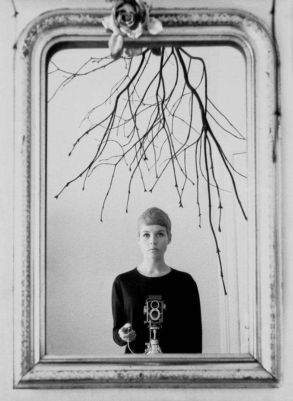 Astrid Kirchherr, self-portrait, 1960