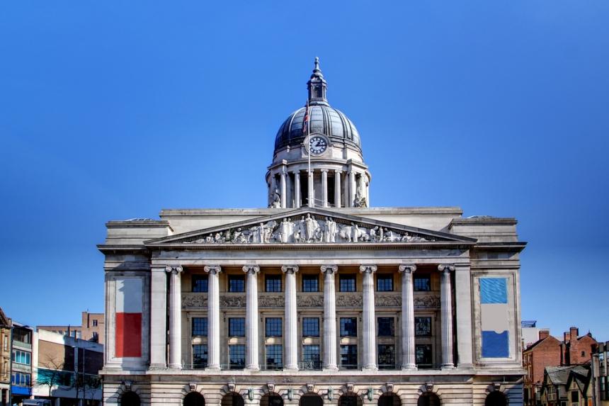 Nottingham Town Hall. Image Credit: [Shutterstock.com](http://www.shutterstock.com)