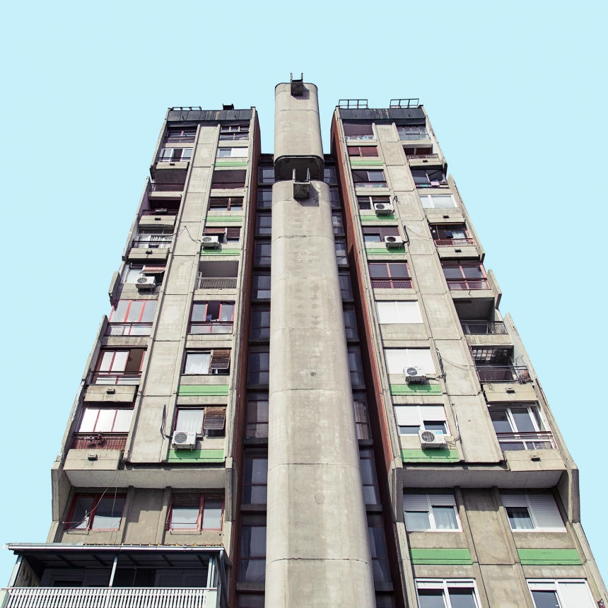 Minimal Belgrade: Futuristic photography series captures Belgrade's 20th-century architecture