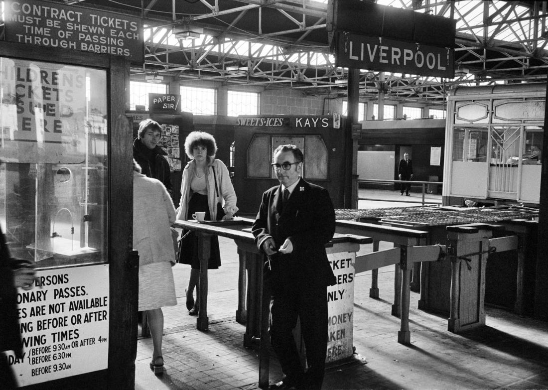Вудсайд Паромного Терминала, Из Серии 'Начальник Пирса, Том Вуд, 1979 © Тома Вуда