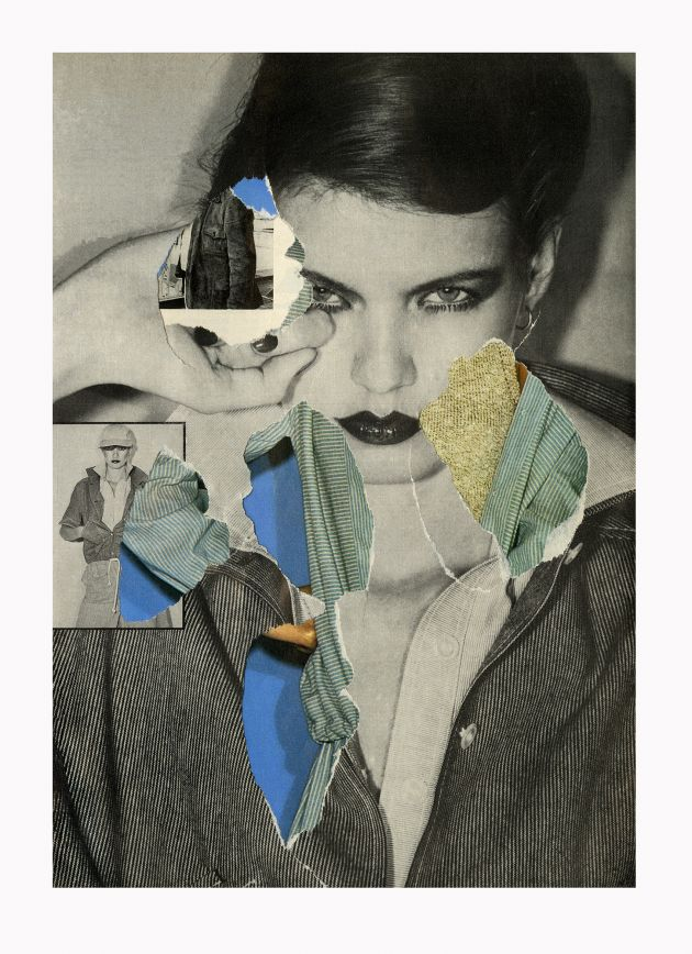 Ehryn Torrell, Secondary Collage [02], 1977-2017