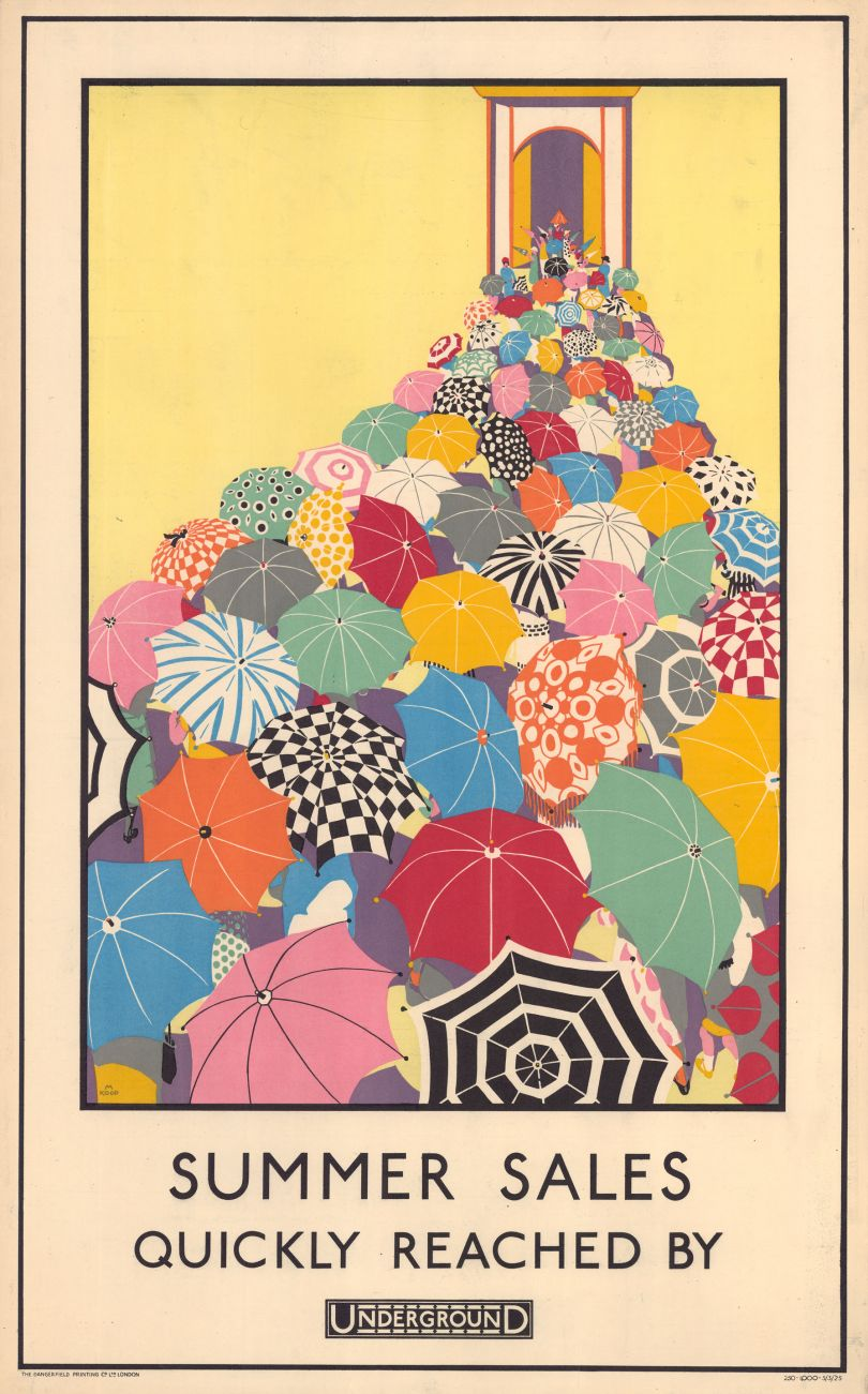 Summer Sales Quickly Reached, by Mary Koop, 1925