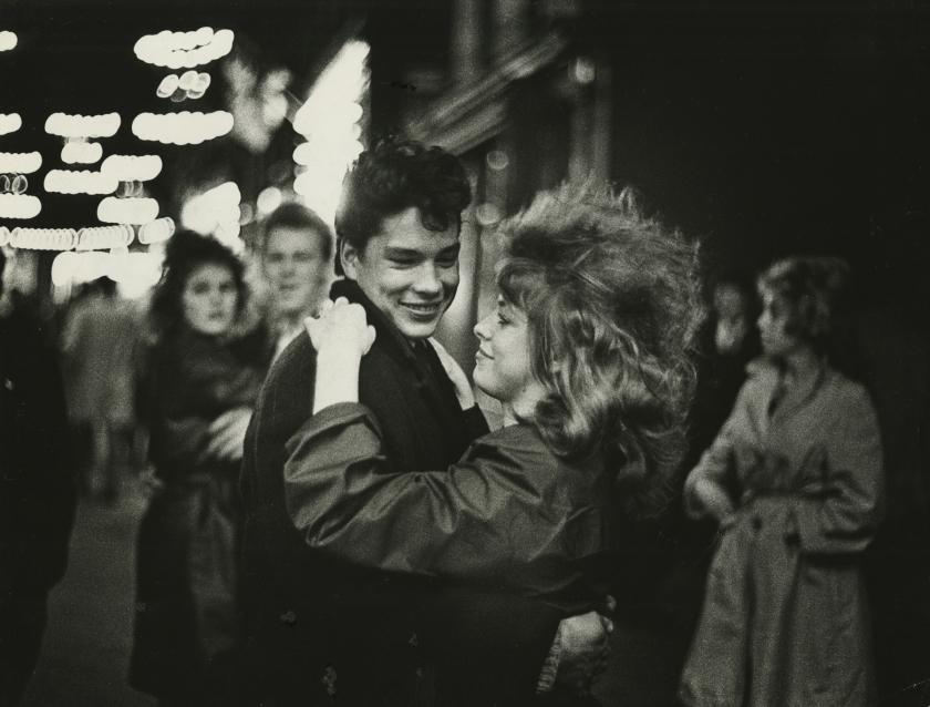 Teenagers, Amsterdam, c.1962. All images copyright Ed van der Elsken, courtesy of Howard Greenberg Gallery, New York