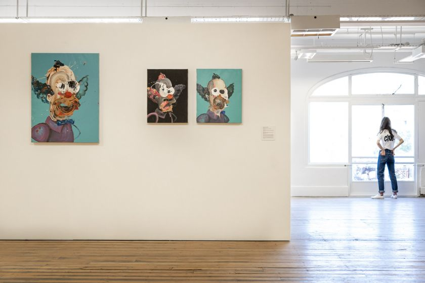 Paintings by Anthony Rondinone. Photography by Jamie James